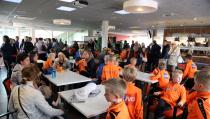 Voetbal Fundag voor 110 kinderen in Kras-stadion