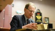Taxaties van boeken in de Grote Kerk Edam