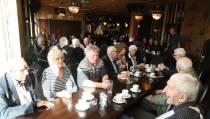 Veteranenbijeenkomst in Café 't Fokkie