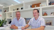 Sponsorcontract Molenaar & Zwarthoed met Mauritius