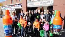 FC Volendam deed mee aan Landelijke Opschoondag