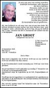 Dhr. J. Groot