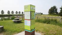 Toeristisch Overstap Punt in Oosthuizen voor wandelaars