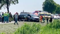Ongeval met letsel op de N247 bij Warder