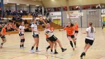 Handbal Dames 1 verliest royaal van Voorwaarts