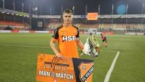 Alex Plat 'Man of the Match'
