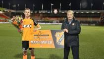 Marco Tol wéér 'Man of the Match'