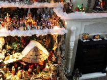 Schitterende Kerstversiering in de woonkamer | Nieuw-volendam.nl