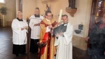Paaswake op zaterdagavond in de Sint Vincentiuskerk