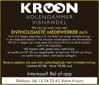 Vacature Volendammer Vishandel Kroon