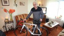 Kees Bond (Meeuw) beschikt nu over een elektrische racefiets