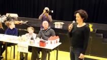 Kinderen schaatsten 3.000 euro bij elkaar voor drie goede doelen