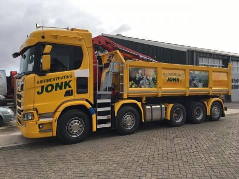 feestelijke opening sierbestrating jonk zwanenburg | nieuw-volendam.nl