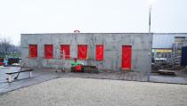 """Nieuwbouw clubhome """"Boule Lef"""" vordert gestaag"""
