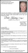 Dhr. D. Koning