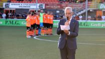 Herdenking overledenen bij FC Volendam