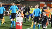 Jur Leek de mascotte van FC Volendam