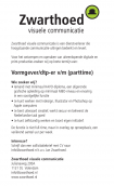 Vacature: Zwarthoed Visuele Communicatie