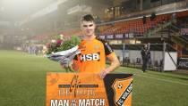 Jari Vlak 'Man of the Match'