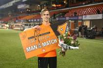 Marco Tol 'Man of the Match'