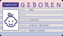 Geboren: Joey