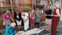 Tentoonstelling 'als beelden gaan spreken' Grote Kerk Oosthuizen