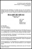 Mevr. M. Kras