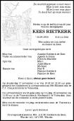 Dhr. K. Rietkerk