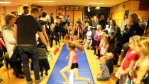 Sport-Kijkavond in de Nicolaasschool in kader van Sportweek