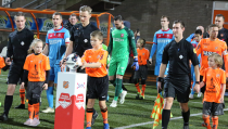 Robert Visscher mascotte van FC Volendam