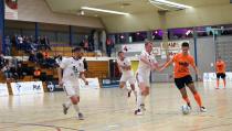 Zaalvoetballers boeken mooie overwinning op White Stones