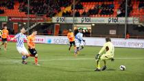 FC Volendam verspeelt in acht minuten tijd de wedstrijd