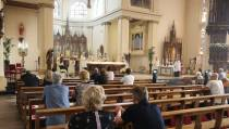 Communiescherm in  de kerken