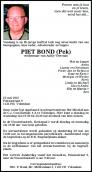 Dhr. P. Bond