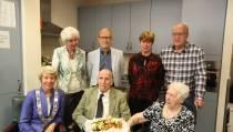 Walter en Annie Ophuijzen 65 jaar getrouwd