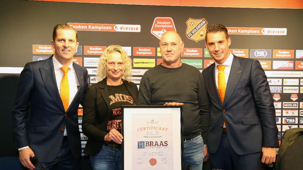Twee Sponsorcontracten Met Fc Volendam Nieuw Volendamnl