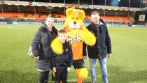 Kevin Tuip mascotte van FC Volendam