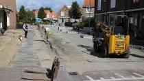 Straatwerkzaamheden in Bloemenbuurt