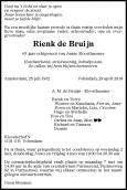 Dhr. R. de Bruijn