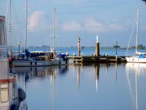 Heerlijke rust in de Haven van Volendam