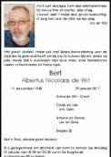 Dhr. B. de Wit