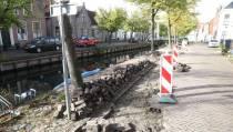 Herstellen parkeervakken aan de Voorhaven