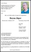 Dhr. R. Jäger