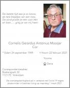Dhr. C. Mooijer