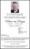 Dhr. M. van Dongen