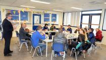 Ria Jonk-Tol 25 jaar werkzaam bij DEEN De Stient