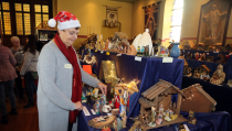 Kerststallenroute en tentoonstelling in Monnickendam