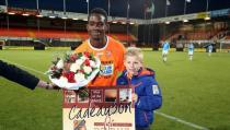 Rick Koning mascotte van FC Volendam