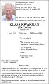 Dhr. K. Kwakman