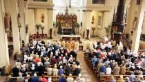 Eerste H. Mis van Kapelaan Anton Goos in Vincentiuskerk